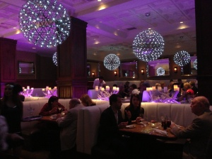 The main dining area inside OCEAN2000